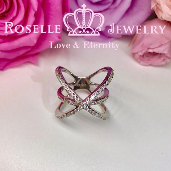 Twist Fashion Ring - BA38 - Roselle Jewelry