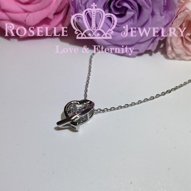 Dancing Stone Solitaire Pendants - CD3 - Roselle Jewelry