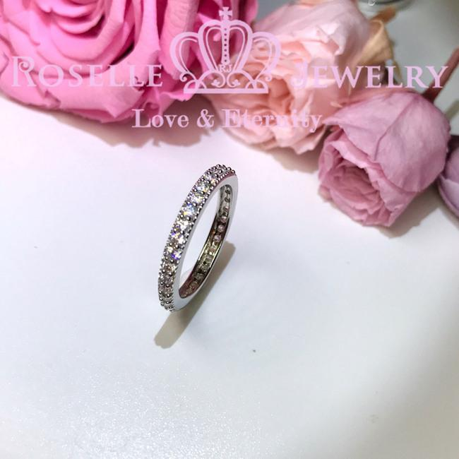 Eternity Wedding Ring - BA2 - Roselle Jewelry