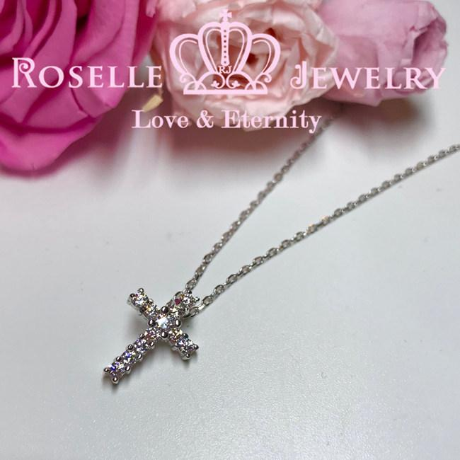 Cross Pendant - CC4 - Roselle Jewelry