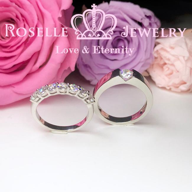 Classic Couple Ring - WM4 - Roselle Jewelry