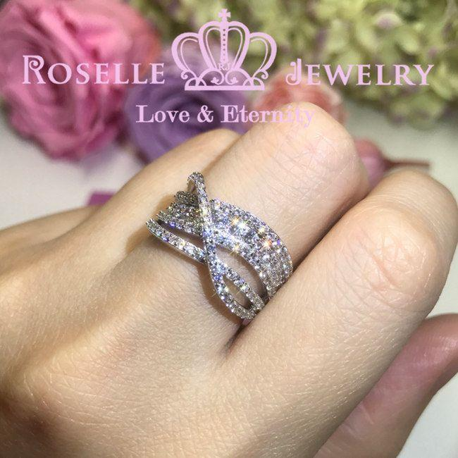 Twist Fashion Ring - BA17 - Roselle Jewelry
