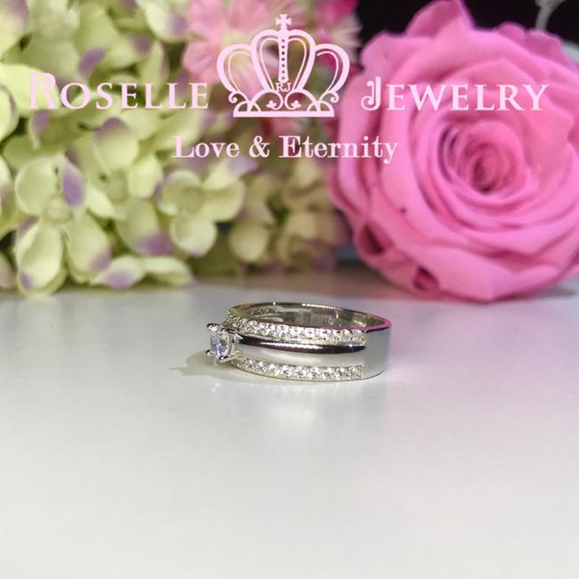 Eternity Fashion Engagement Ring - RM1 - Roselle Jewelry