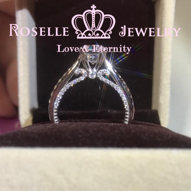 Vintage Engagement Ring - V0 - Roselle Jewelry