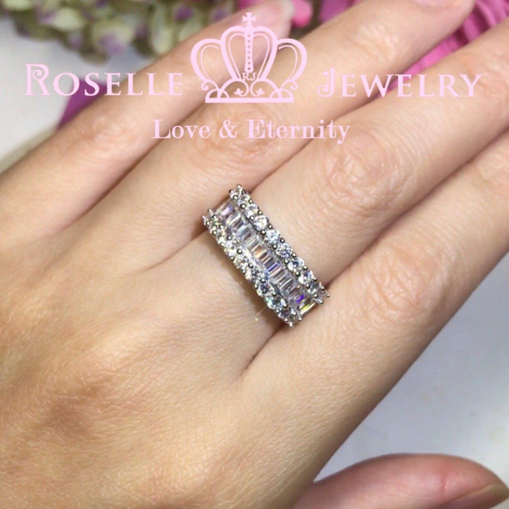 Emerald Cut Fashion Ring - RT1 - Roselle Jewelry