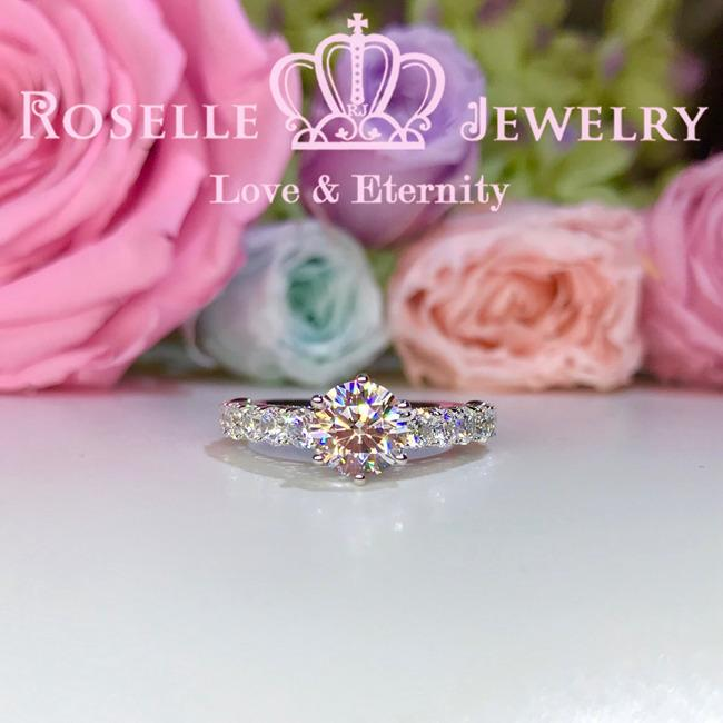 Vintage Engagement Ring - V24 - Roselle Jewelry