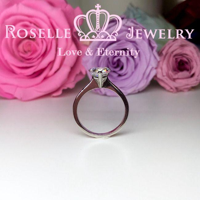 Happy Heart Solitaire Engagement Ring - NH2 - Roselle Jewelry
