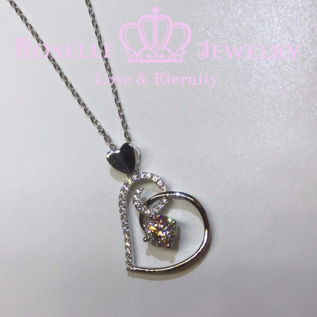 Heart Shape Drop Pendants - HC1 - Roselle Jewelry