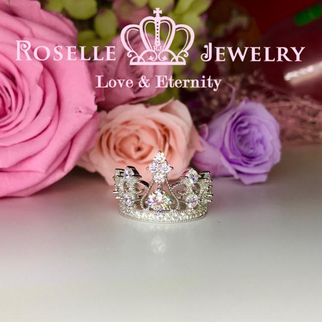 Crown Fashion Ring - BA14 - Roselle Jewelry