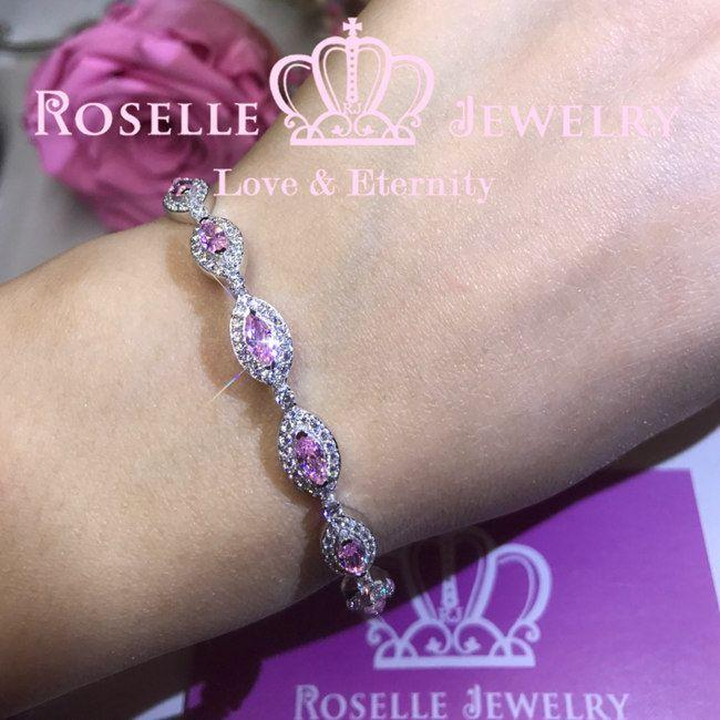 Marquise Half Chain Bracelet - BG3 - Roselle Jewelry
