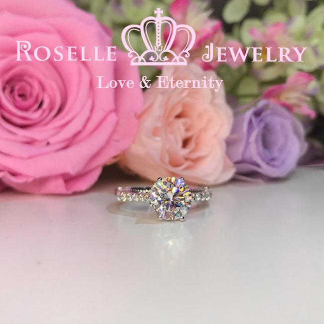 Vintage Engagement Ring - V3 - Roselle Jewelry