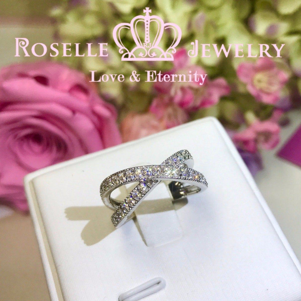 Twist Fashion Ring - BA18 - Roselle Jewelry