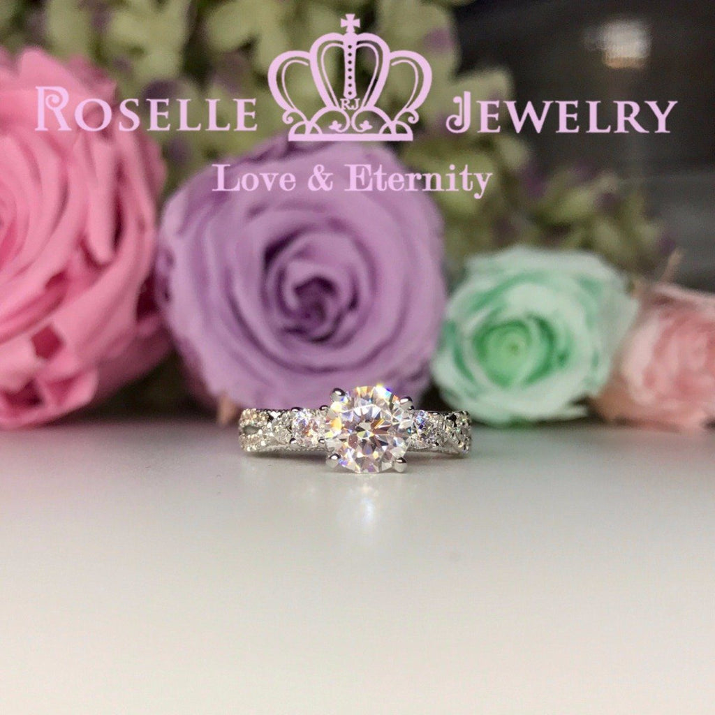 Vintage Engagement Ring - V19 - Roselle Jewelry