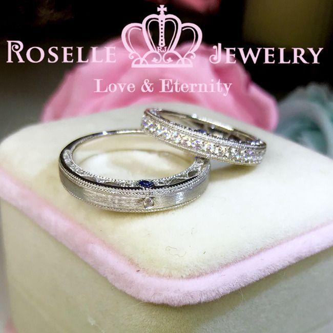 Vintage Couple Ring - WM2 - Roselle Jewelry
