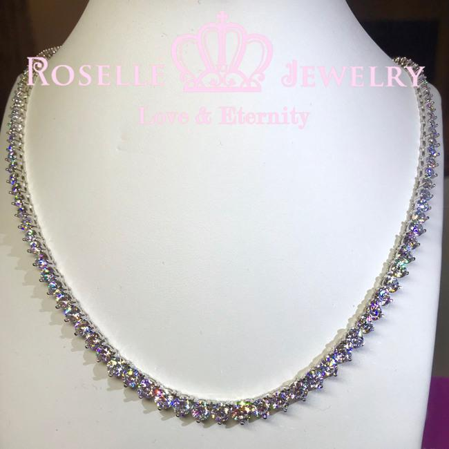 Luxury Bridal Cocktail Necklace - GN16 - Roselle Jewelry
