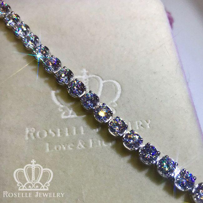 Fashion Tennis Bracelet - B50 - Roselle Jewelry