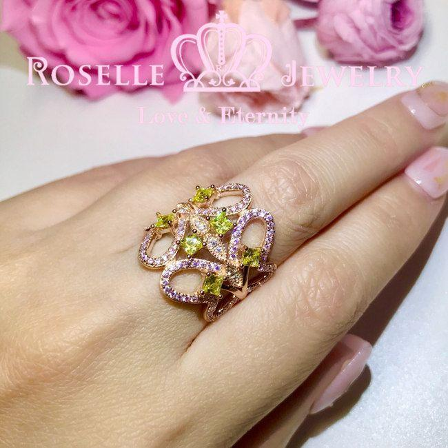 Butterfly Fashion Ring - TB5 - Roselle Jewelry