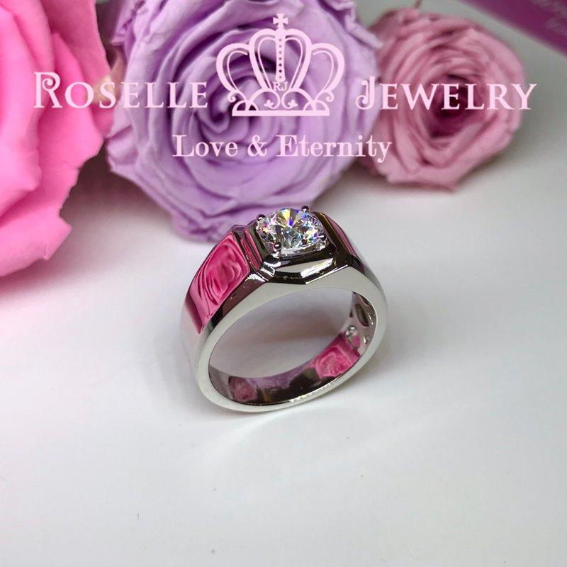 Solitaire Men's Ring - NM4 - Roselle Jewelry