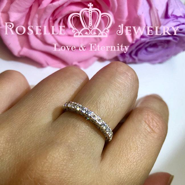 Vintage Wedding Band Ring - BV3 - Roselle Jewelry