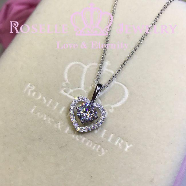 Heart Shape Drop Pendants - C1 - Roselle Jewelry