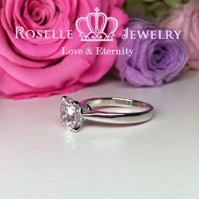 Four Prong Engagement Ring - NT9 - Roselle Jewelry
