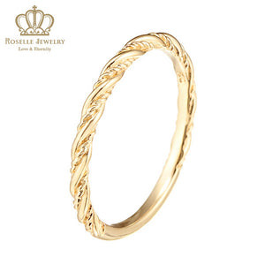 Charlisa™  Twist Ring - WC002