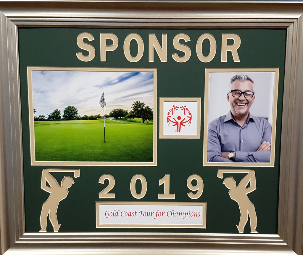 Customized Award for Golf Outing Sponsors