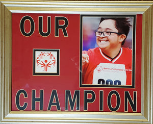 Special Olympics - Our Champion