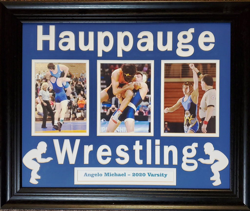Hauppauge Wrestling Triple Panel