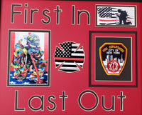 Fire Department Custom Mat ONLY