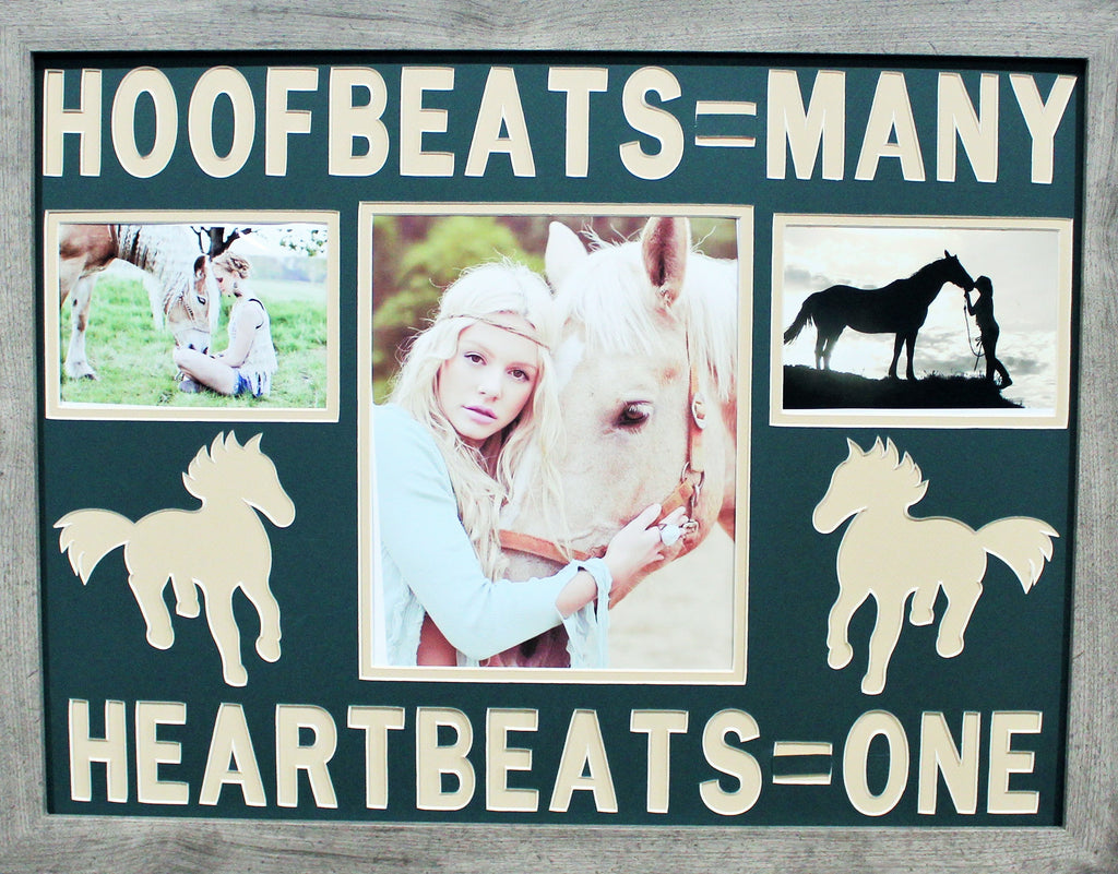 Hoofbeats = Many Heartbeats  = One