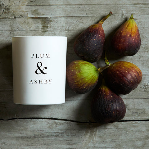 Green Fig Candle from Plum & Ashby