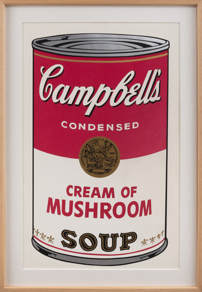 Cream of Mushroom,from Campbell's Soup Ⅰ