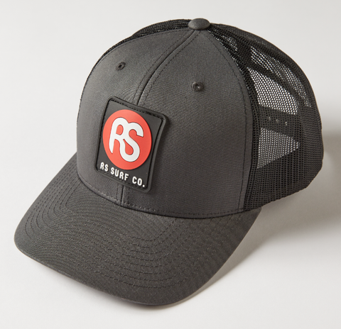 RS Charcoal Black Mesh Hat