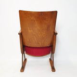 1950s Italian theatre chair