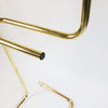 1980s golden clothes hanger (5639641563298)