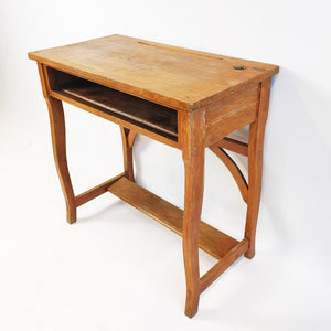 1920s wooden school desk