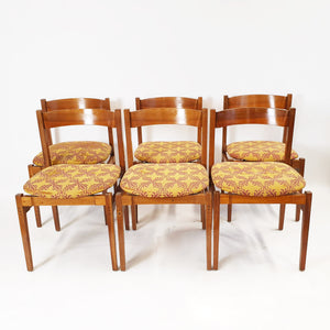 1960s dining chair set by Gianfranco Frattini for Cassina