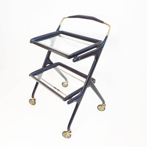 Mid-century drinks trolley by Cesare Lacca