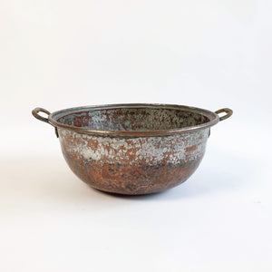 Antique Italian copper vat