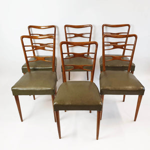1940s Italian dining chairs