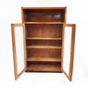 Antonio Ferretti bookcase with frosted glass doors 1950s