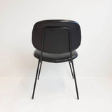 1960s Olivetti black chair