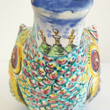 Vintage hand-painted carafe from San Marino