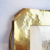 Vintage brass decorative tray