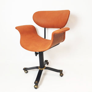 Vintage swivel desk chair