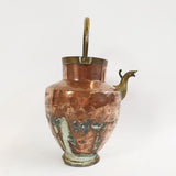 Antique Italian copper water carrier