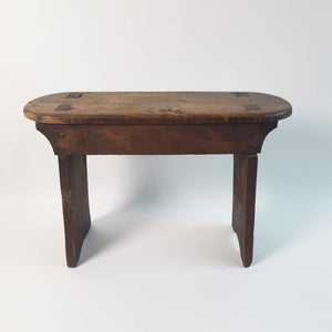 Vintage rustic wooden bench (4616169127980)