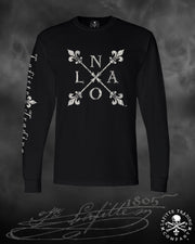 Men's Long Sleeve T Shirt - Jean Lafitte ~ NOLA
