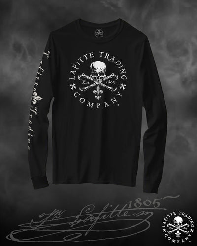 Women's Long Sleeve T Shirt Jean Lafitte ~ Flagship